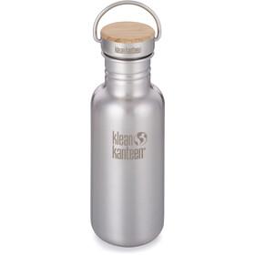 Klean Kanteen Reflect Bottle Bamboo Cap 532ml brushed stainless